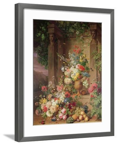 The Tomb of Julie, 1803-Jan Frans van Dael-Framed Art Print