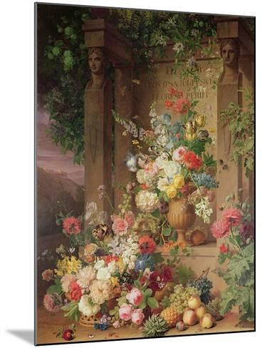 The Tomb of Julie, 1803-Jan Frans van Dael-Mounted Giclee Print