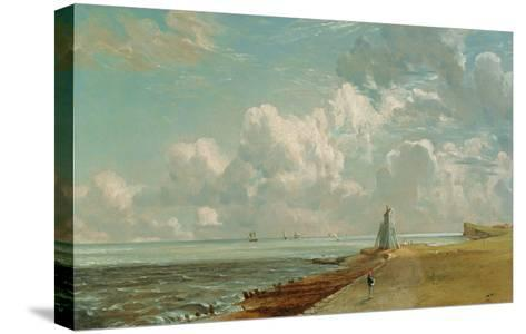 Harwich, the Low Lighthouse and Beacon Hill, c.1820-John Constable-Stretched Canvas Print