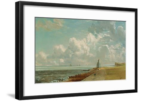 Harwich, the Low Lighthouse and Beacon Hill, c.1820-John Constable-Framed Art Print