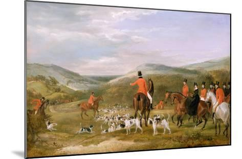 The Berkeley Hunt, 1842: the Meet-Francis Calcraft Turner-Mounted Giclee Print