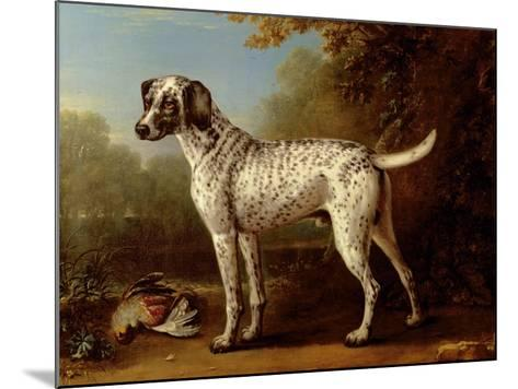 Grey Spotted Hound, 1738-John Wootton-Mounted Giclee Print