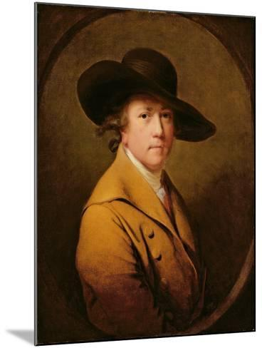Self-Portrait, c.1780-Joseph Wright Of Derby-Mounted Giclee Print