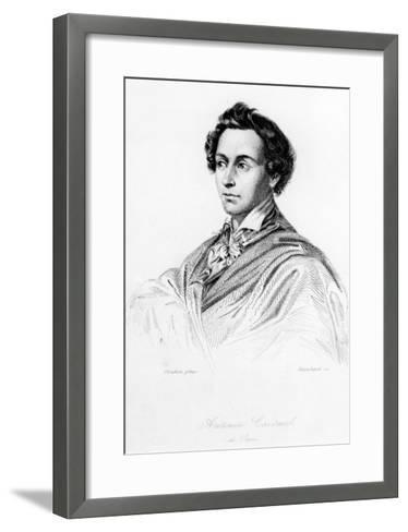 Marie-Antoine Careme, Frontispiece to 'L'Art De Cuisine Francaise', Engraved by Blanchard, 1833-Charles Auguste Steuben-Framed Art Print