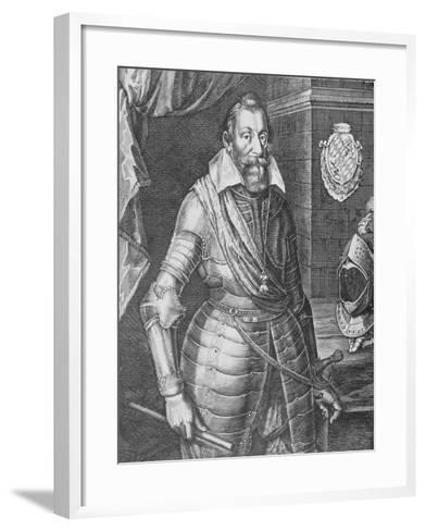 Maximilian I, Elector of Bavaria (Engraving)-Peter Isselburg-Framed Art Print