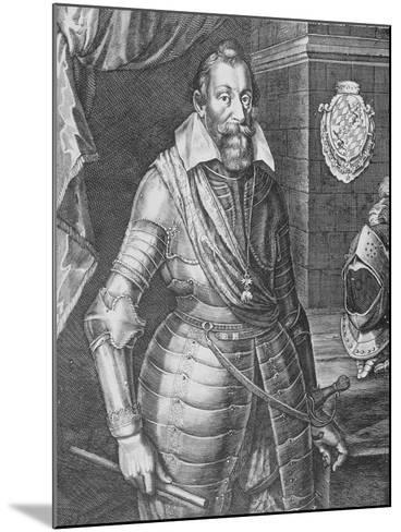 Maximilian I, Elector of Bavaria (Engraving)-Peter Isselburg-Mounted Giclee Print