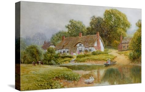 The Ferry-Arthur Claude Strachan-Stretched Canvas Print