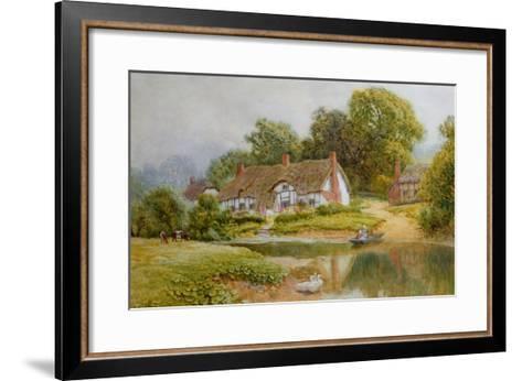 The Ferry-Arthur Claude Strachan-Framed Art Print