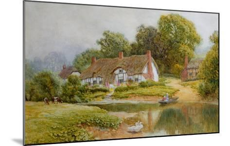 The Ferry-Arthur Claude Strachan-Mounted Giclee Print