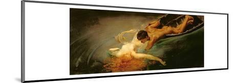 Green Abyss, 1862-Giulio Aristide Sartorio-Mounted Giclee Print