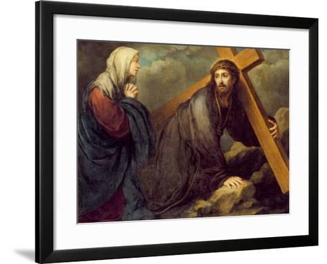 Christ at Calvary-Bartolome Esteban Murillo-Framed Art Print