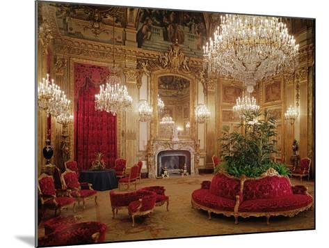 The Great Drawing Room of the Napoleon Iii Apartments, C.1861 (Colour Photo)--Mounted Giclee Print