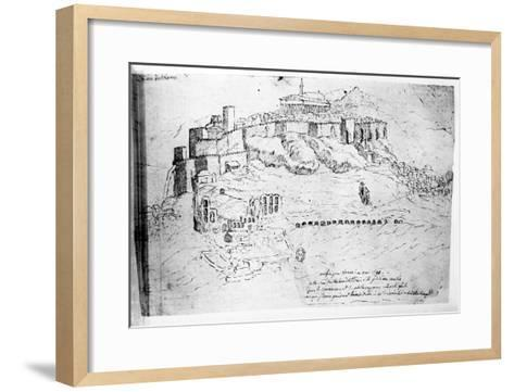 Athens, 1791 (Pen and Ink Drawing) Giclee Print by French | Art.com