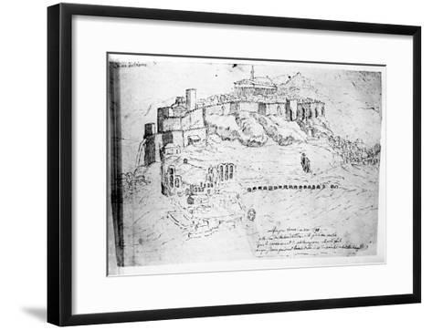 Athens, 1791 (Pen and Ink Drawing)-French-Framed Art Print