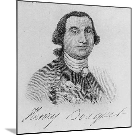 Colonel Henry Bouquet (Engraving)-John Wollaston-Mounted Giclee Print