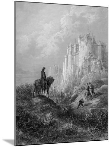 Camelot, Illustration from 'Idylls of the King' by Alfred Tennyson (Litho)-Gustave Dor?-Mounted Giclee Print