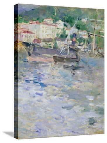 The Port, Nice, 1882-Berthe Morisot-Stretched Canvas Print
