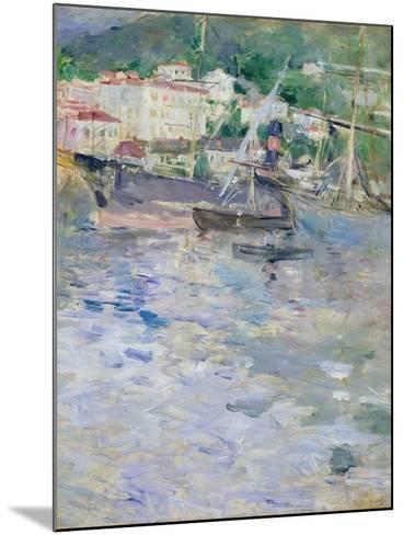 The Port, Nice, 1882-Berthe Morisot-Mounted Giclee Print