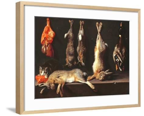 Still Life, Game-Jan Weenix-Framed Art Print