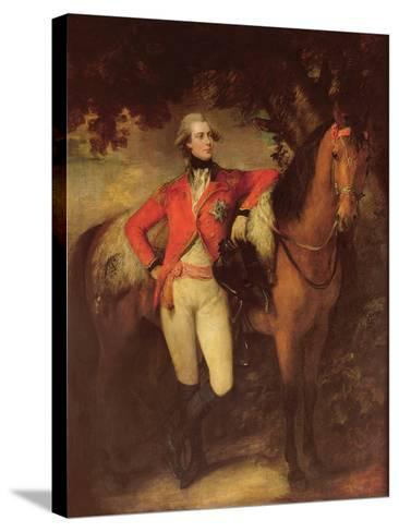 George Iv, as Prince of Wales, 1782-Thomas Gainsborough-Stretched Canvas Print