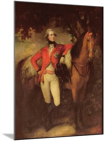 George Iv, as Prince of Wales, 1782-Thomas Gainsborough-Mounted Giclee Print