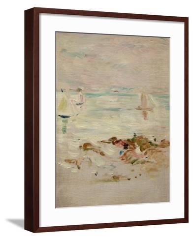 Sailboats, 1894-Berthe Morisot-Framed Art Print