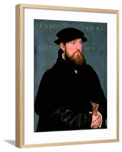 De Vos Van Steenwijk-Hans Holbein the Younger-Framed Art Print