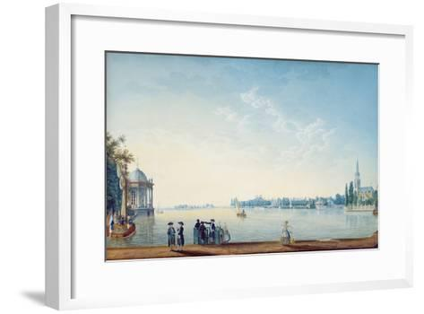 Havenrak to Broek in Waterland, or the City of Zwolle on the Banks of the Ijssel in Holland, 1814-Anton Ignaz Melling-Framed Art Print