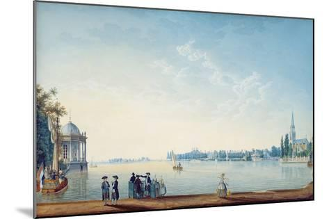 Havenrak to Broek in Waterland, or the City of Zwolle on the Banks of the Ijssel in Holland, 1814-Anton Ignaz Melling-Mounted Giclee Print
