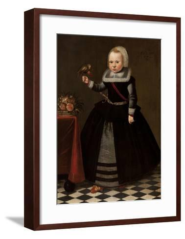 Portrait of a Girl-French-Framed Art Print