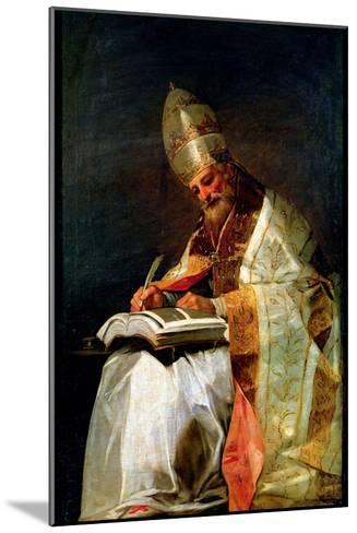 St. Gregory the Great, 1795-99-Francisco de Goya-Mounted Giclee Print