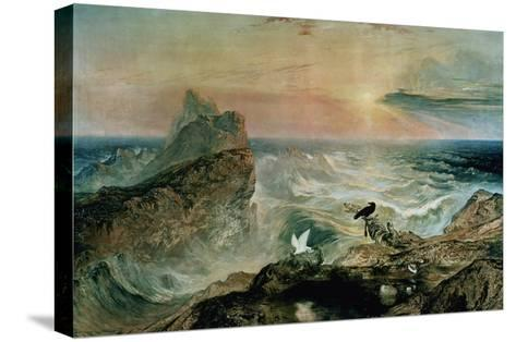 Assuaging of the Waters-John Martin-Stretched Canvas Print