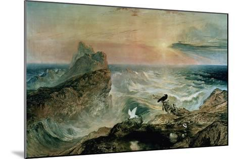 Assuaging of the Waters-John Martin-Mounted Giclee Print