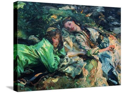 The Brook-John Singer Sargent-Stretched Canvas Print