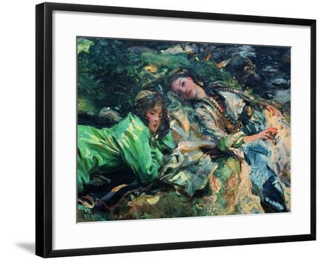 The Brook-John Singer Sargent-Framed Art Print