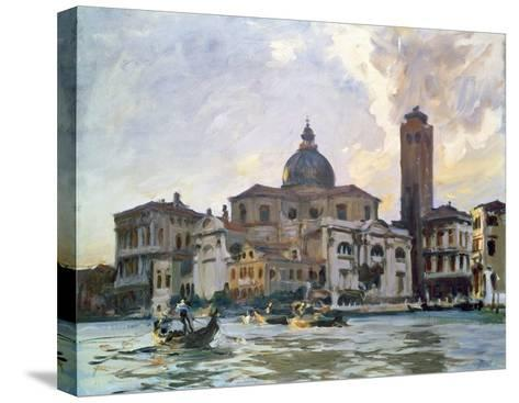 Palazzo Labia, Venice-John Singer Sargent-Stretched Canvas Print