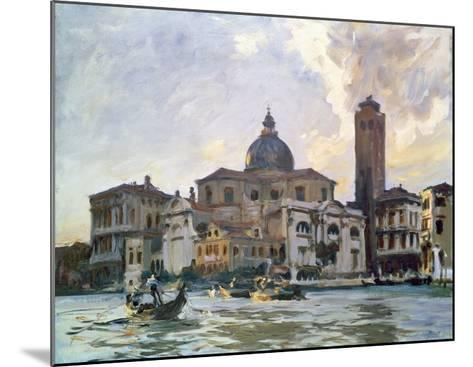 Palazzo Labia, Venice-John Singer Sargent-Mounted Giclee Print