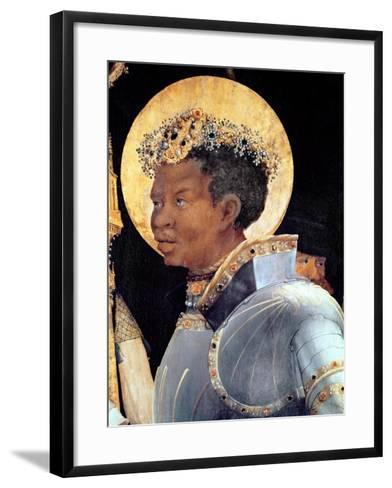 St. Maurice (Detail)-Matthias Gr?newald-Framed Art Print