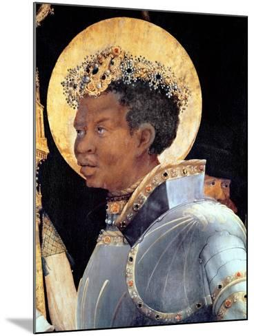 St. Maurice (Detail)-Matthias Gr?newald-Mounted Giclee Print