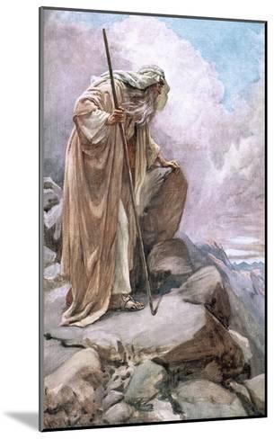 Moses on Pisgah-Harold Copping-Mounted Giclee Print