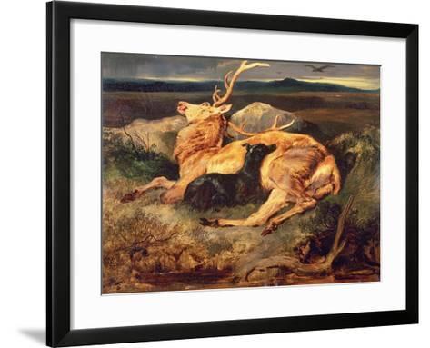 Stag-Edwin Henry Landseer-Framed Art Print