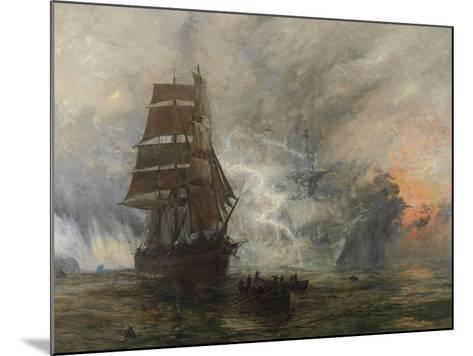 The Phantom Ship-William Lionel Wyllie-Mounted Giclee Print