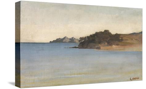 Portofino, c.1858-Giovanni Costa-Stretched Canvas Print