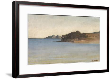 Portofino, c.1858-Giovanni Costa-Framed Art Print