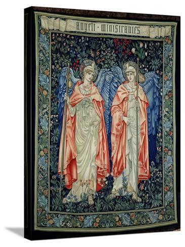 Angeli Ministrantes, 1894 (Tapestry)-Edward Burne-Jones-Stretched Canvas Print