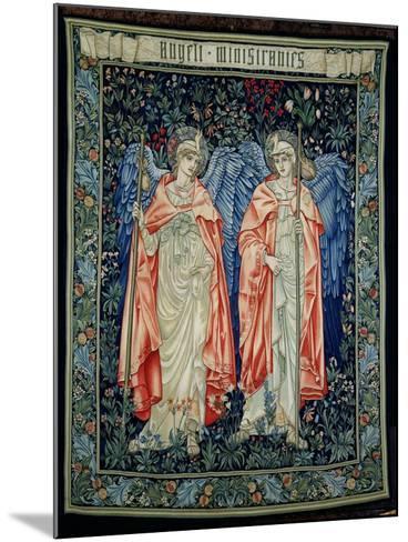 Angeli Ministrantes, 1894 (Tapestry)-Edward Burne-Jones-Mounted Giclee Print