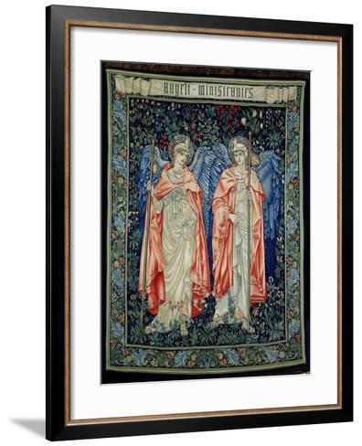 Angeli Ministrantes, 1894 (Tapestry)-Edward Burne-Jones-Framed Art Print