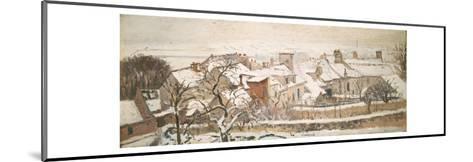 Winter, 1872-Camille Pissarro-Mounted Giclee Print