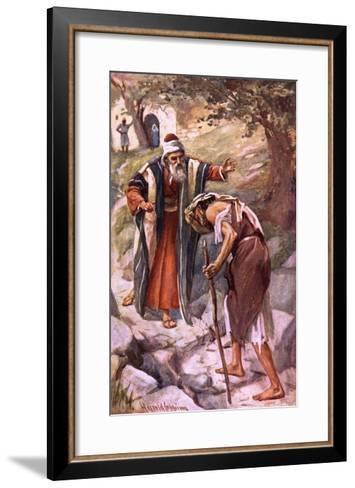 The Prodigal Son-Harold Copping-Framed Art Print