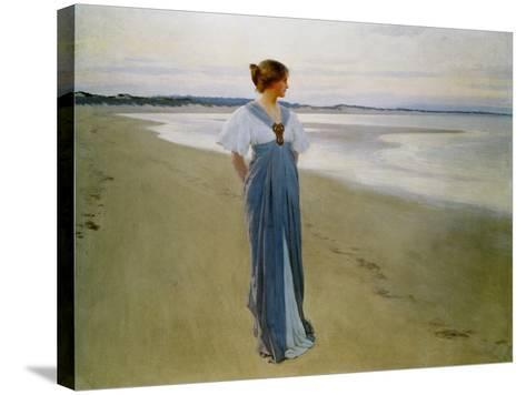 The Seashore, 1900-William Henry Margetson-Stretched Canvas Print
